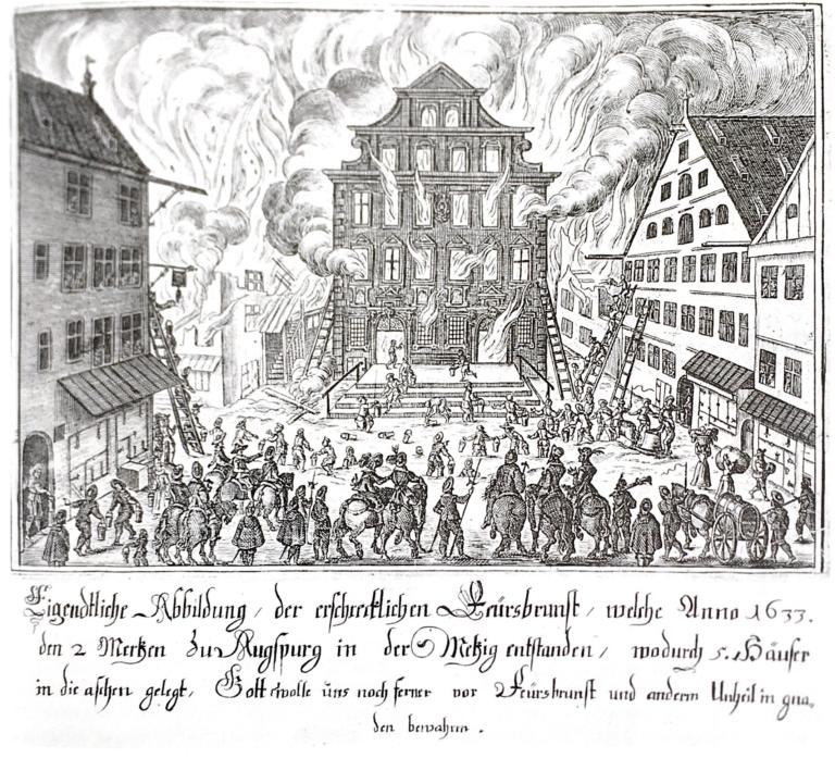 1276: Erste Feuerordnungen